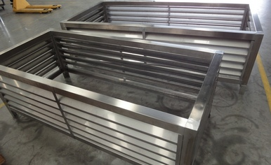 Stainless Steel Louvres Project